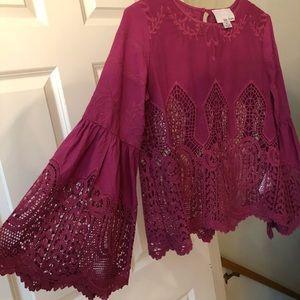 Anthropologie cotton blouse